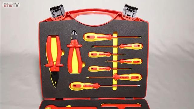 Set de herramientas moldeadas por inyección