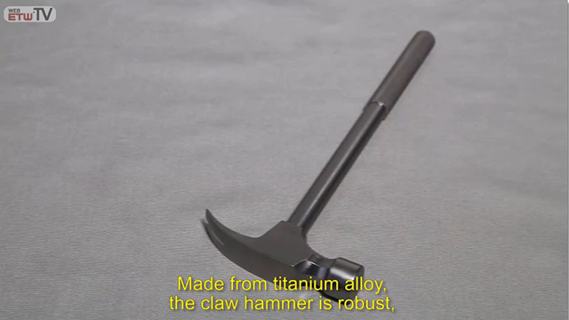 Martillo de uña de aleación de titanio